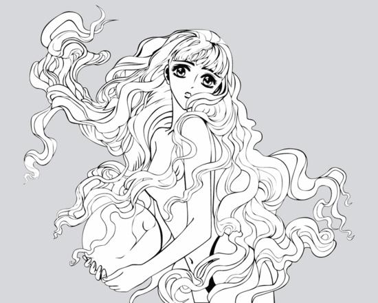 V-Best: my_anime(Векторная графика и иллюстрация)