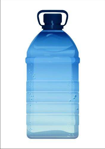 Vector Constructor: Пластиковая бутылка(Векторная графика и иллюстрация)