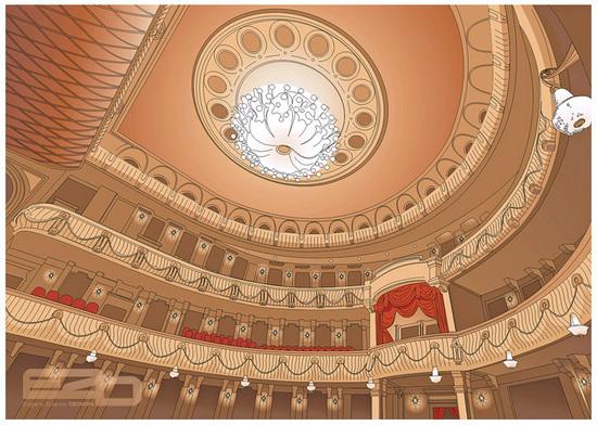 Vector Constructor: Большой театр(Векторная графика и иллюстрация)