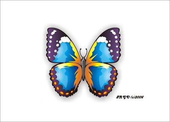 copy: бабочка(Векторная графика и иллюстрация)