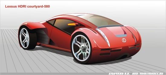 Машины: Lexsus(Векторная графика и иллюстрация)