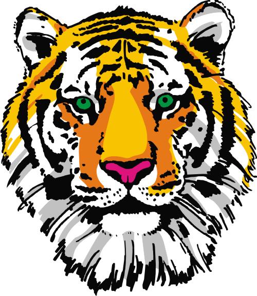 copy: Тигра(Векторная графика и иллюстрация)