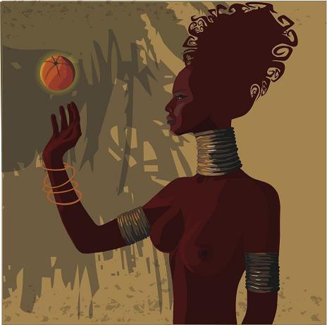 copy: Orange braun(Векторная графика и иллюстрация)