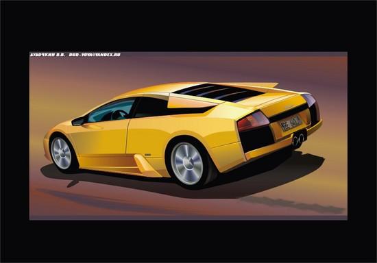 Машины: Машина .. мечта...(Векторная графика и иллюстрация)