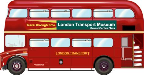Машины: Лондонский бус(Векторная графика и иллюстрация)