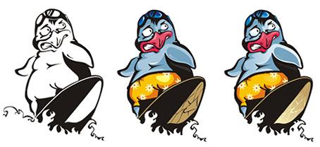 Vector Constructor: Пингвин(Векторная графика и иллюстрация)