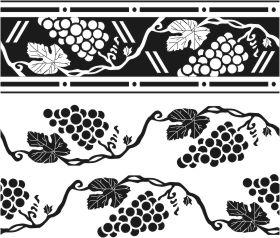 Узор Виноградная лоза