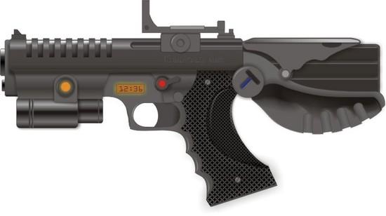Xara X: kreuweizer_tactical_pistol(Векторная графика и иллюстрация)