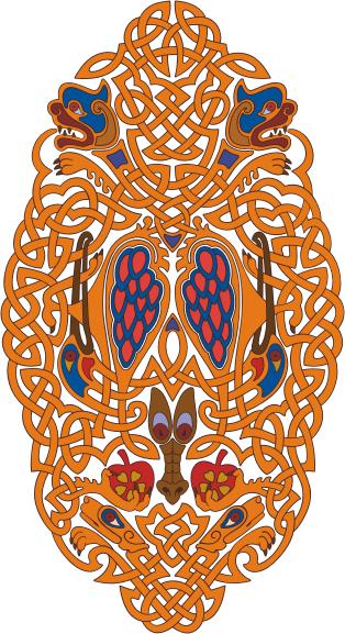 Узоры: Орнамент кельтский(Векторная графика и иллюстрация)