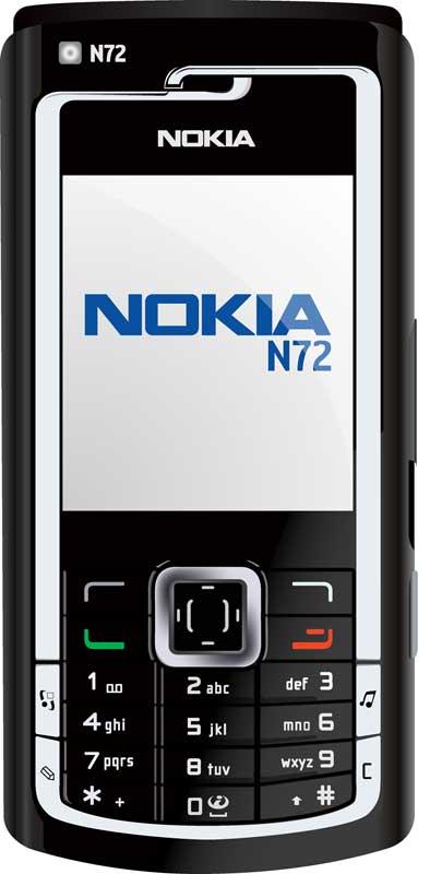 copy: Nokia N72(Векторная графика и иллюстрация)