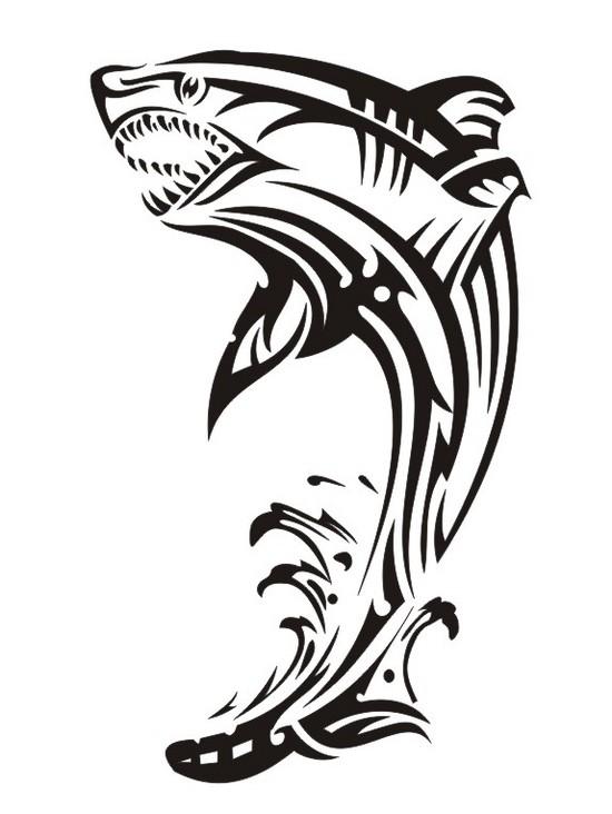 Узоры: Акула пера=)(Векторная графика и иллюстрация)