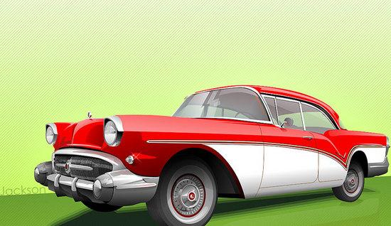 Машины: Бьюик(Векторная графика и иллюстрация)