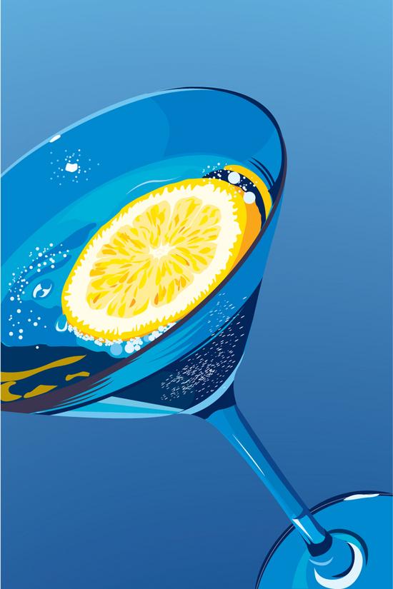 VGlow: Martini(Векторная графика и иллюстрация)