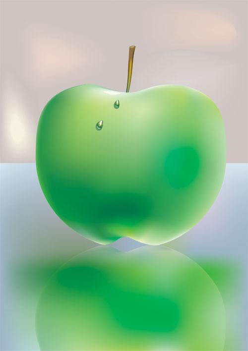 Vector Constructor: яблоко(Векторная графика и иллюстрация)