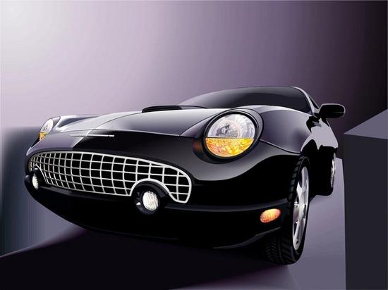 Машины: Ford(Векторная графика и иллюстрация)