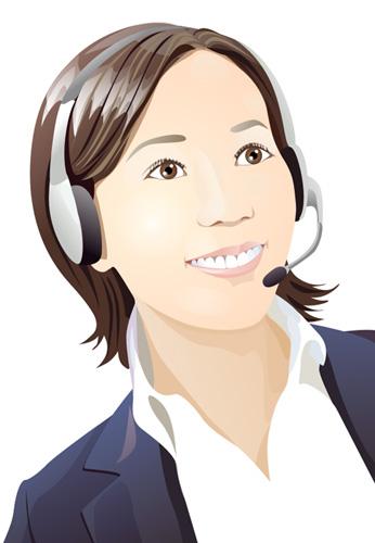 VGlow: Japan girl smiling(Векторная графика и иллюстрация)