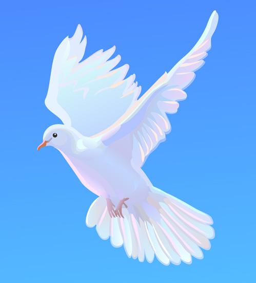 VGlow: Dove(Векторная графика и иллюстрация)