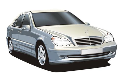 Vector Constructor: Mercedes(Векторная графика и иллюстрация)