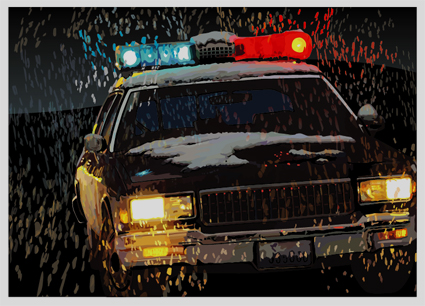 Машины: Police(Векторная графика и иллюстрация)