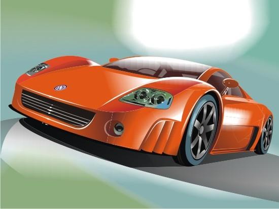 Машины: Увидел в интернете и захотел отрисовать...(Векторная графика и иллюстрация)