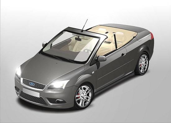 Машины: Ford Focus(Векторная графика и иллюстрация)