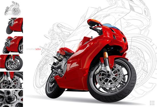 Машины: motoreD...(Векторная графика и иллюстрация)