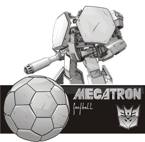 Vector Constructor: Мегатрон(Векторная графика и иллюстрация)