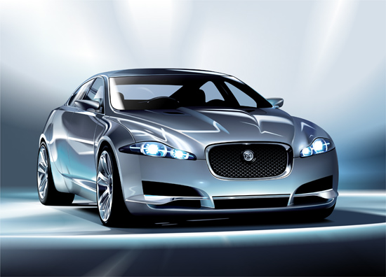 Машины: Jaguar C-XF(Векторная графика и иллюстрация)