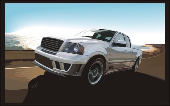Машины: Saleen S331-ST(Векторная графика и иллюстрация)