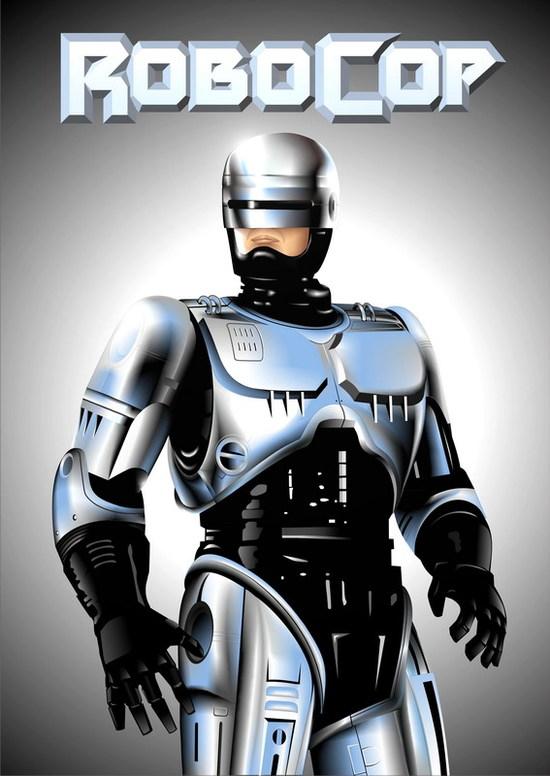 Vector Constructor: Robocop(Векторная графика и иллюстрация)