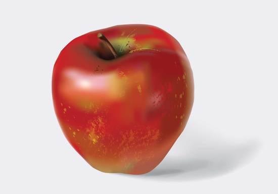 VGlow: яблоко(Векторная графика и иллюстрация)