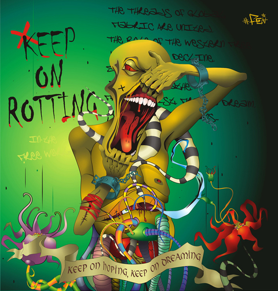 VGlow: Keep_on_rotting_in_the_Free_World(Векторная графика и иллюстрация)