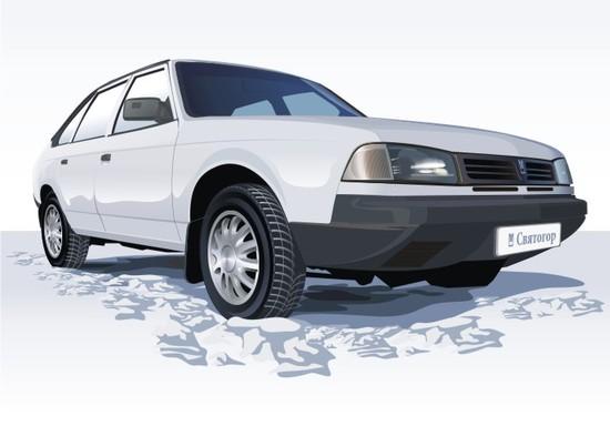 Машины: Москвич Святогор(Векторная графика и иллюстрация)