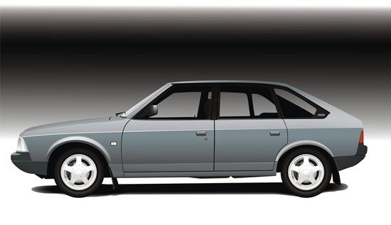 Машины: личный авто(Векторная графика и иллюстрация)