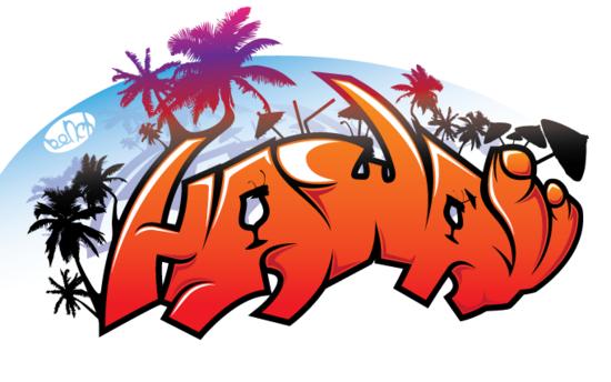 VGlow: Hawaii (исправлено)(Векторная графика и иллюстрация)