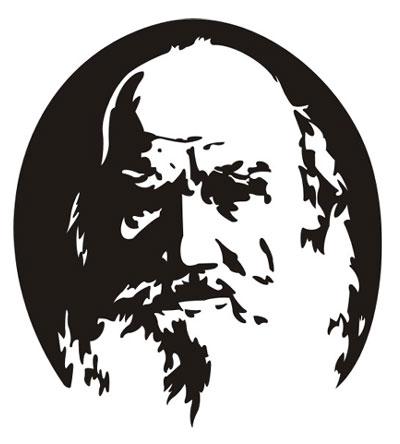 Vector Constructor: Л.Н.Толстой(Векторная графика и иллюстрация)