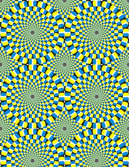 Узоры: Векторная иллюзия(Векторная графика и иллюстрация)