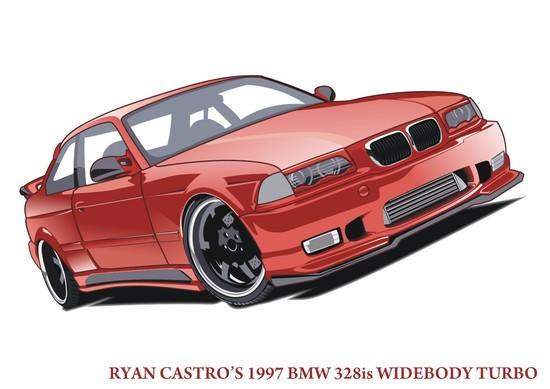 Машины: BMW(Векторная графика и иллюстрация)
