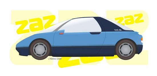 Машины: ZAZ-BS(Векторная графика и иллюстрация)