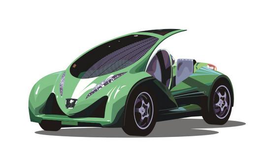 Машины: Peugeot Vroomster(Векторная графика и иллюстрация)