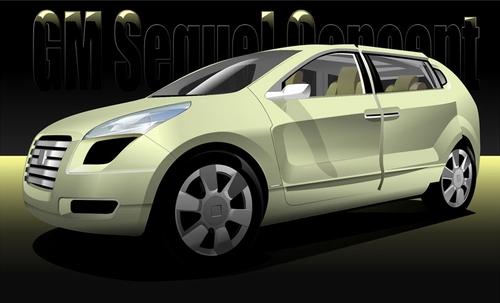 Машины: GM Sequel Concept(Векторная графика и иллюстрация)