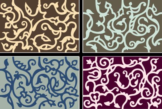 Узоры: Орнаментальные ячейки(Векторная графика и иллюстрация)