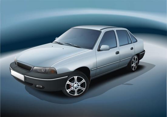 Машины: Nexia(Векторная графика и иллюстрация)