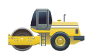 Машины: Каток(Векторная графика и иллюстрация)