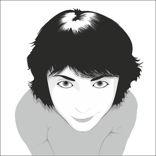 copy: Девушка(Векторная графика и иллюстрация)