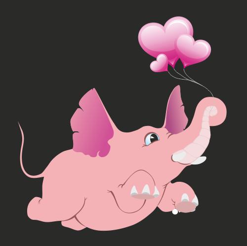 Розовый срон