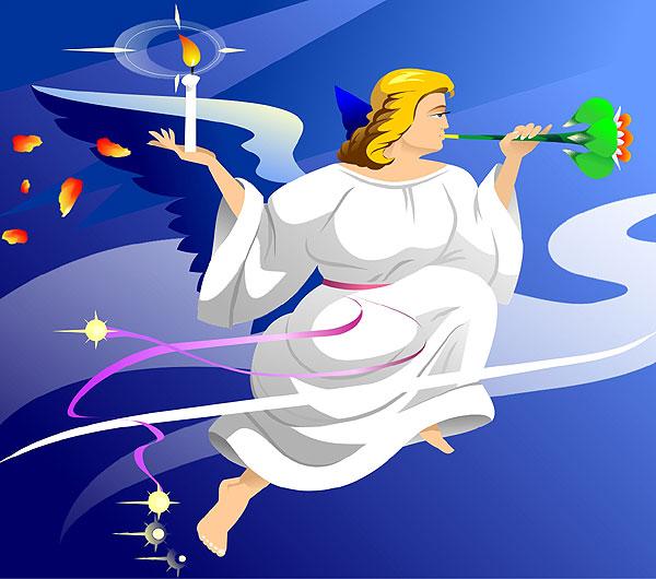 V-Best: Ангел(Векторная графика и иллюстрация)