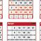 Календарная сетка 2009