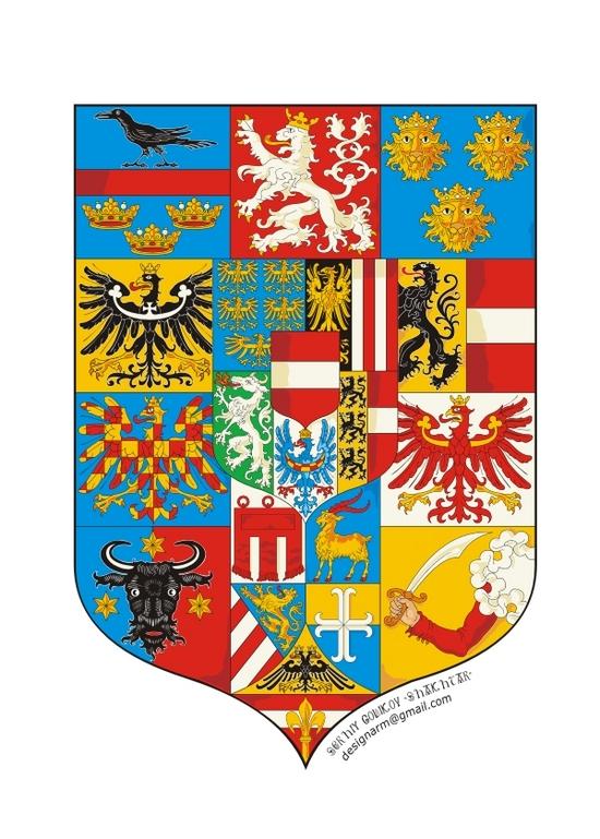 copy: герб Австро-Вегрии(его часть)(Векторная графика и иллюстрация)