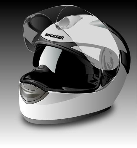 Машины: Шлем(Векторная графика и иллюстрация)